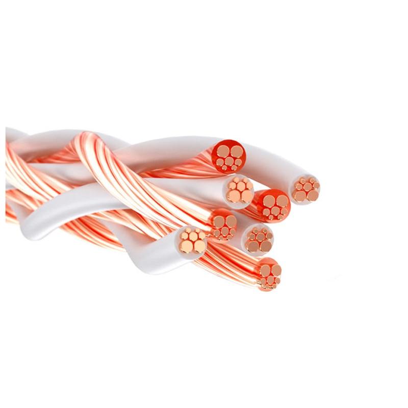 Cable de Cable de cobre OCC giratorio de 4 núcleos 4TC para...