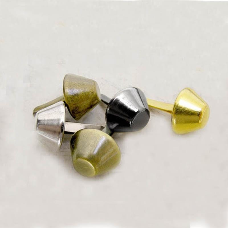 Bolsa Bronze Studs Nailheads Pico 1000pcs 15mm Pés
