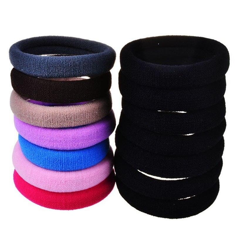 Lotes 20 pçs candy fluorescência colorido 4cm suportes de cabelo elásticos elásticos acessórios de fita de cabelo gravata