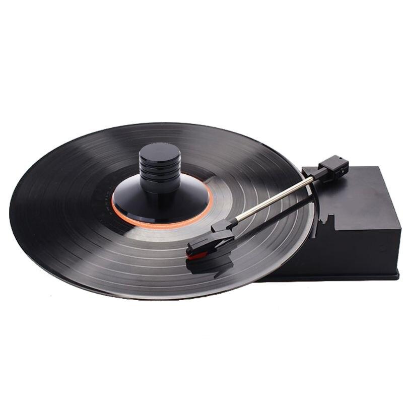 Estabilizador de discos de aleación de Zinc LP, de vinilo, estabilizador de disco de Metal equilibrado, abrazadera giratoria de peso HiFi