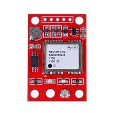 1 Pcs GY-NEO6MV2 NEO-6M Gps Modul NEO6MV2 Bord Rot 3,6*2,4 cm