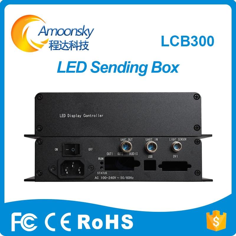 ¡Oferta! AMS-LCB300 Nova led soporte de caja de envío externo Novastar MSD300...