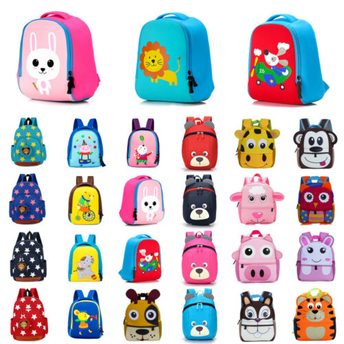 2019 Baby Girl Boy Cute School Bag Backpacks Toddler Kid Children Boy Girl 3D Cartoon Animal Backpack School Bag Rucksack