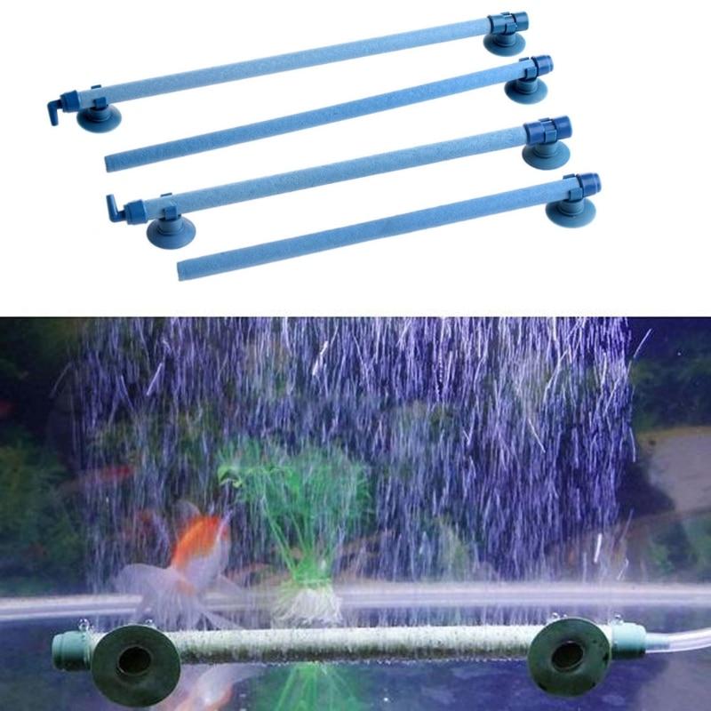 """7 """"10"""" 14 """"18"""" 23 """"28"""" tanque de peces piedra para acuario tubo de burbujas de pared tubo para ventilación productos para mascotas decoraciones adornos Dropshipping"""