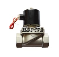 g1 12 two way stainless steel motor valvedn40 dc12vdc24v normally closed solenoid valve