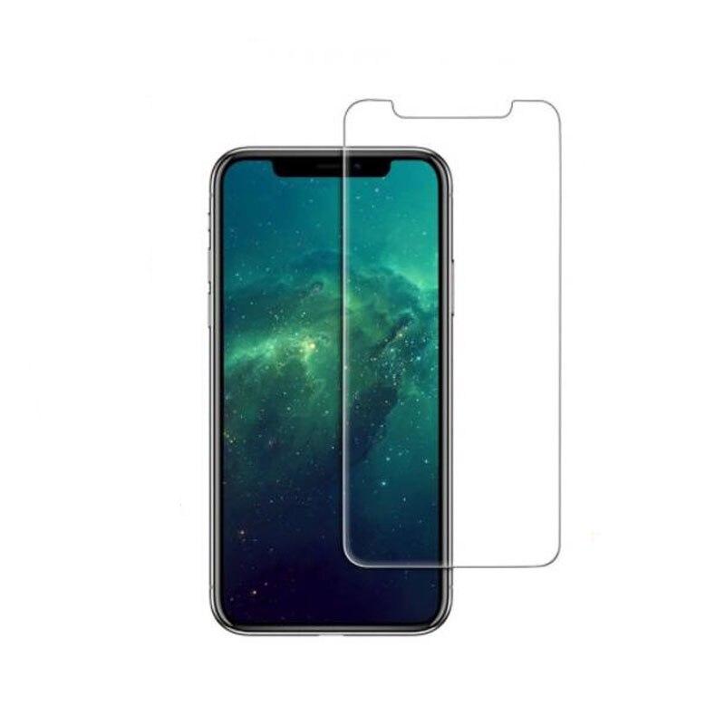 Protector de vidrio templado de primera calidad, Protector transparente para iphone XR XS X Max, película protectora, Protector frontal de pantalla (no completa)