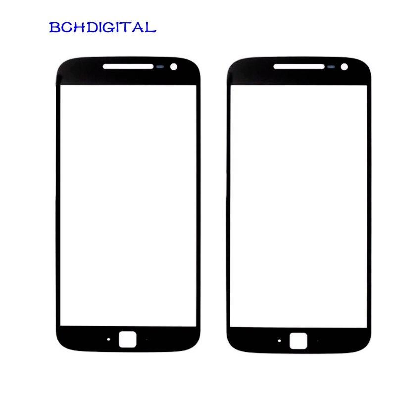 MT017 para Motorola Moto G 1, 2, 3, 4 G1 G2 G3 G4 más G4plus pantalla táctil lcd cubierta exterior de vidrio frontal de reemplazo del panel de la lente