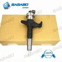 4pcs Diesel fuel injector 295050-1900 295050-0910 295050-0811 8-98260109-0 for I suzu D-max