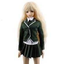 [wamami] 300# Dark Green Dress/Shirt/Suit/Outfit 1/4 MSD DZ DOD BJD Dollfie
