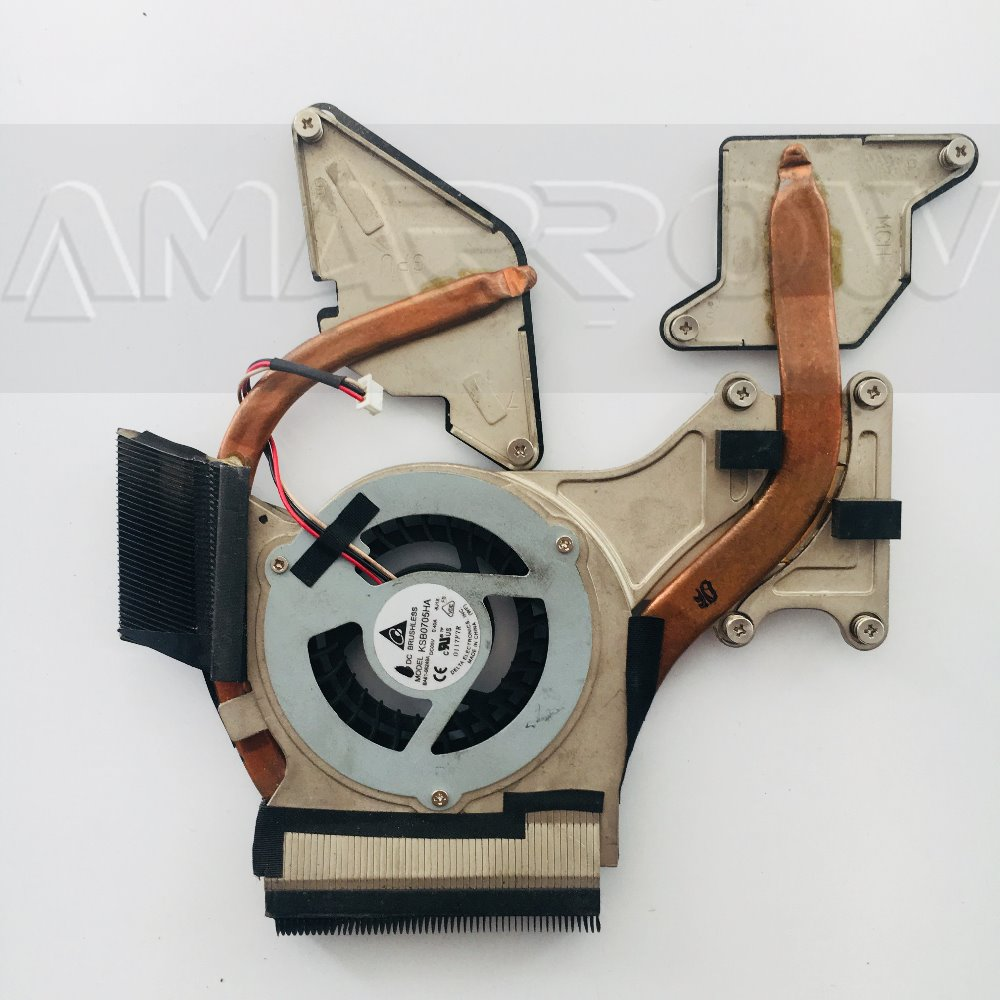 Original For SAMSUNG laptop heatsink cooling fan cpu cooler R520 R518 R620 R522 CPU heatsink Fan BA96-0405A BA96-04060B