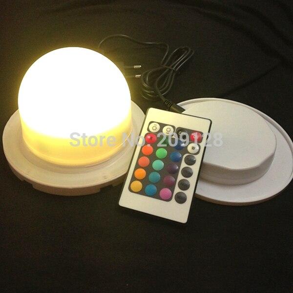 Impermeable al aire libre luz LED batería de sistema de carga para cubo pelota VC-LI120