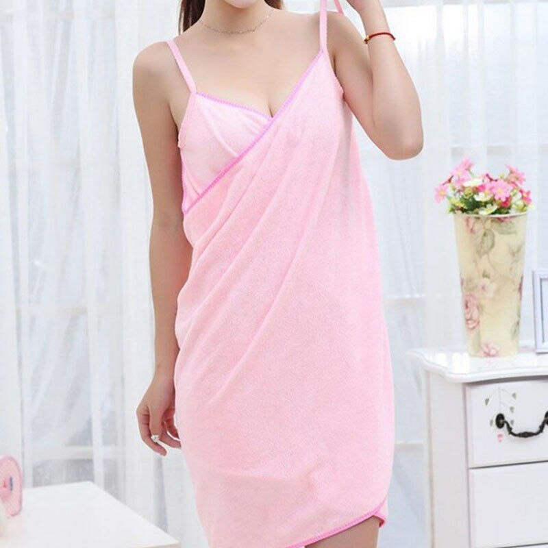 Toalla textil para el hogar túnica de mujer bata de baño vestido de toalla de secado rápido playa Spa mágico para Brasil Epacket