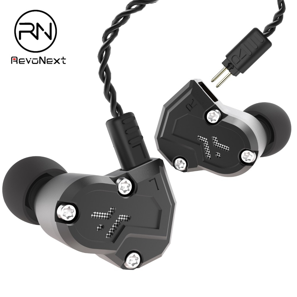 RenoNext-سماعات رأس رياضية هجينة 4 ديناميكي ، سماعات HIFI DJ Monito ، وحدة محرك 2 ، QT3S