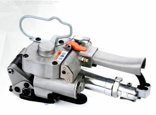 DT-A19 الهوائية آلة الربط ل 13-19 مللي متر PET/PP تذوب الساخنة الموثق البالات أدوات الربط حزام النطاقات آلة
