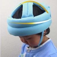 baby hat cotton baby boy girl safety helmet adjustable baby protective cap summer walk head securityprotection kids newborn cap