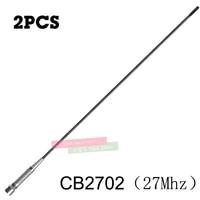 2pcs 27mhz gain gain cb mobile antenna pl259 connector for kenwood motorola yaesu icom car walkie talkie aerial adjustable