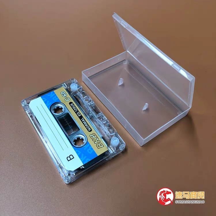 Wholesale 10 pcs BKB C-60 60 Minutes Normal Position Type 1 Recording Blank Cassette Tapes.