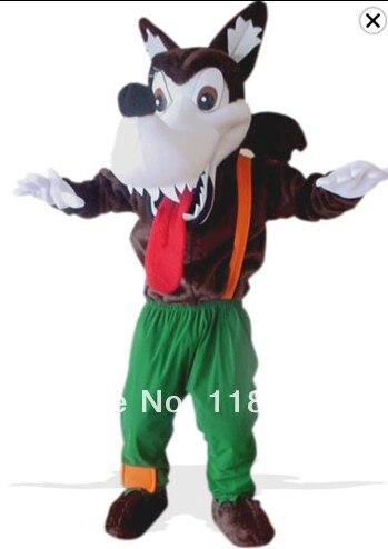 Mascote lobo selvagem traje da mascote coyote personalizado fantasia traje anime cosplay kits mascotte fantasia vestido carnaval traje