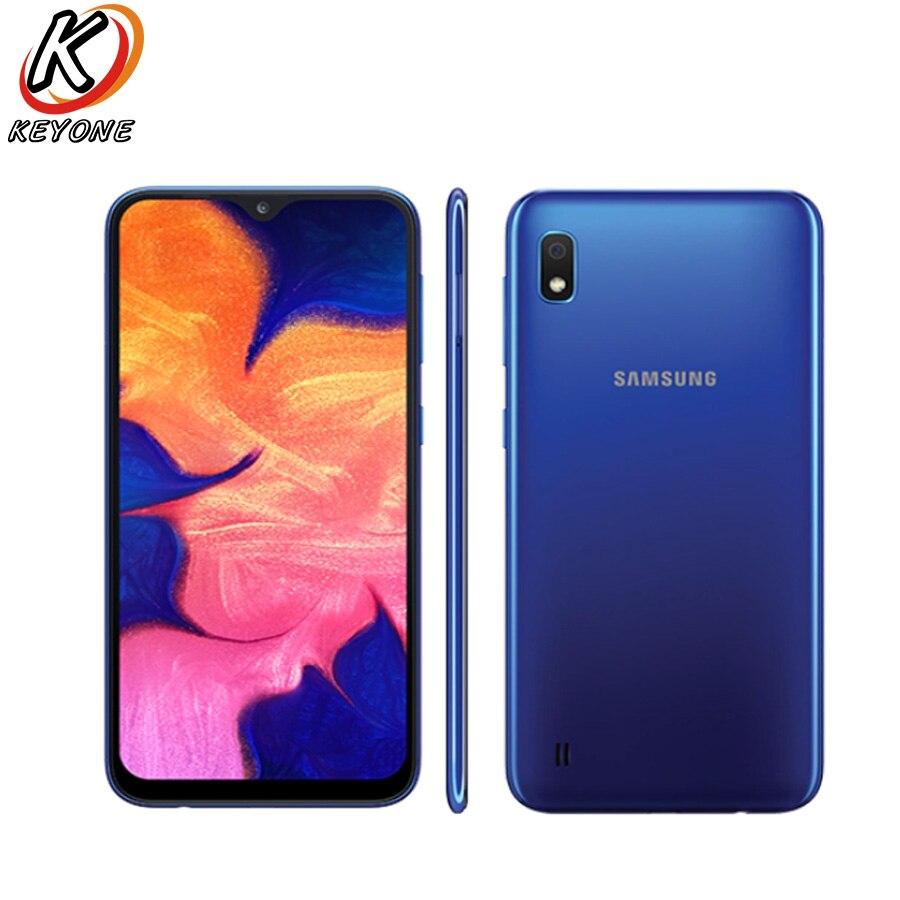 "Nuevo Samsung Galaxy A10 A105F-DS teléfono móvil 6,2 ""2GB RAM 32GB ROM Octa Core Android 9,0 13.0MP Cámara Dual SIM teléfono móvil"