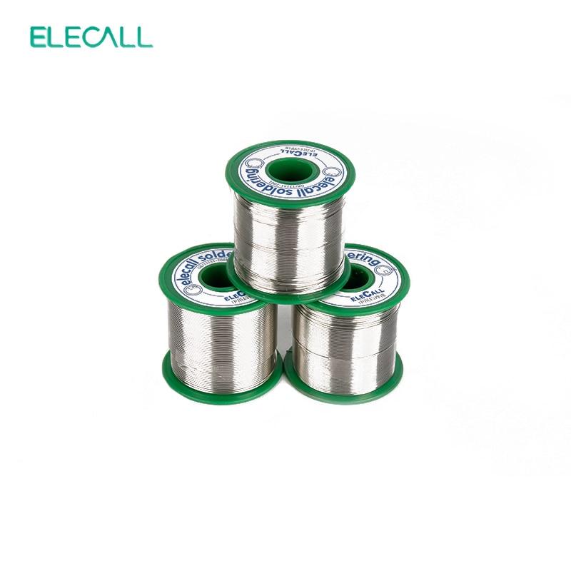 ELECALL Tin 75g 99.3SN Rosin Core Tin/Lead Free Rosin Roll Flux Reel Melt Core Soldering Tin Solder Wire
