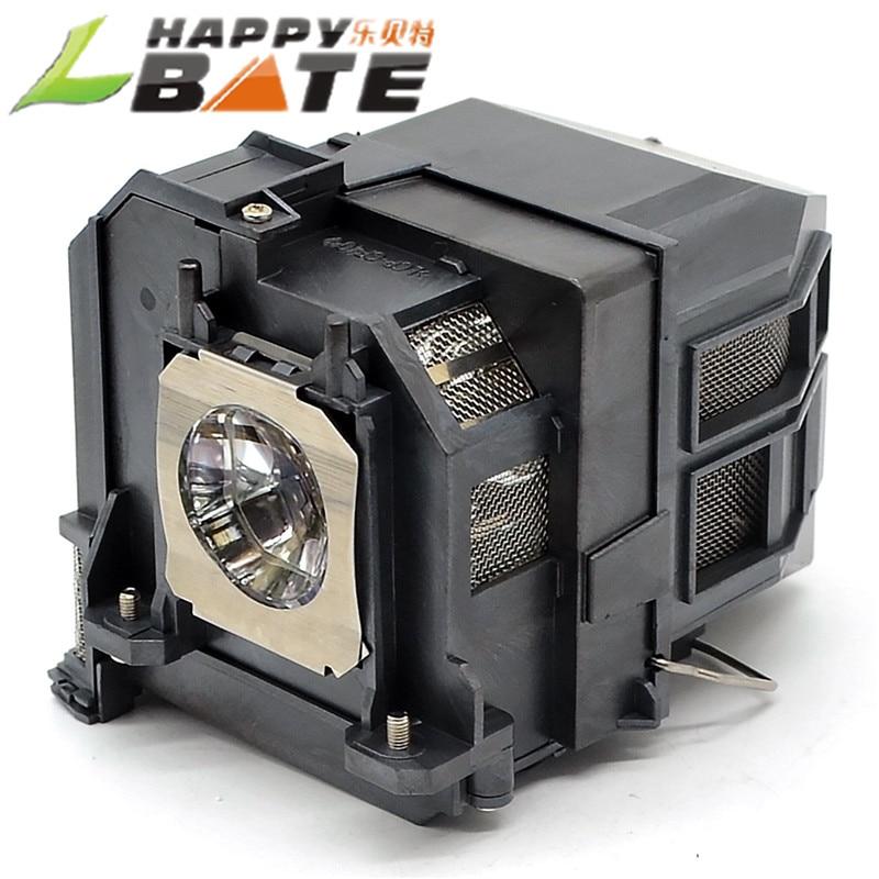 HAPPYBATE совместимые проекторы лампа с корпусом ELPLP91 лампа проектора BrightLink 685Wi/BrightLink 695Wi/EB-680
