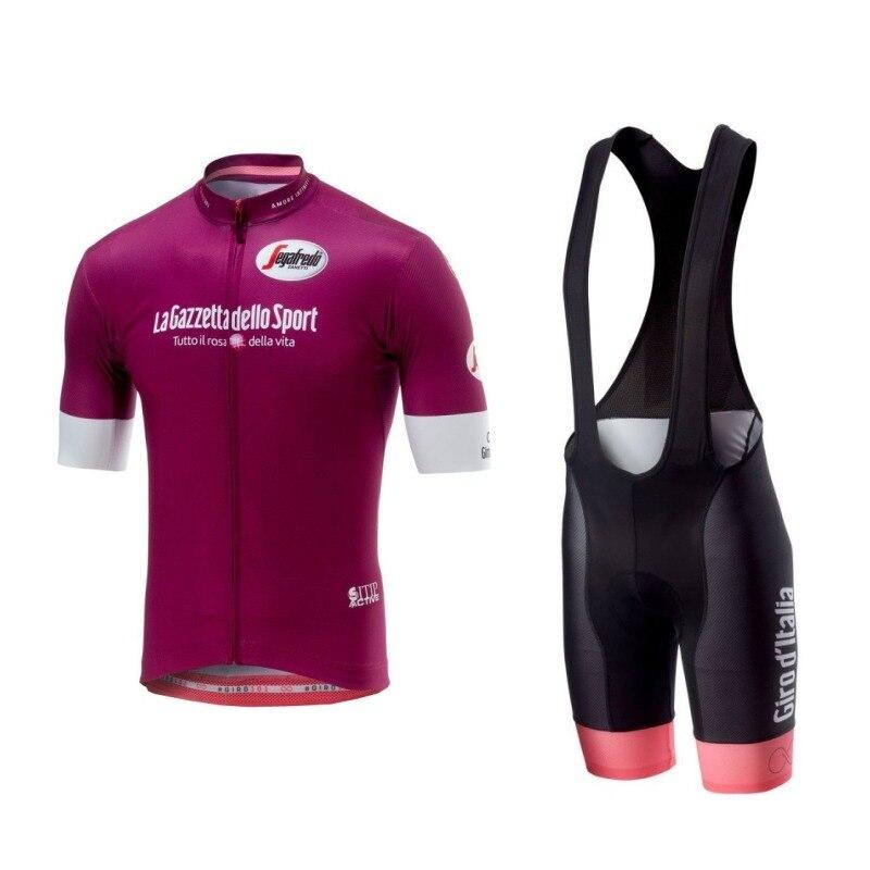 Conjunto de Ropa de Ciclismo del tour de italia, maillot y pantalones...