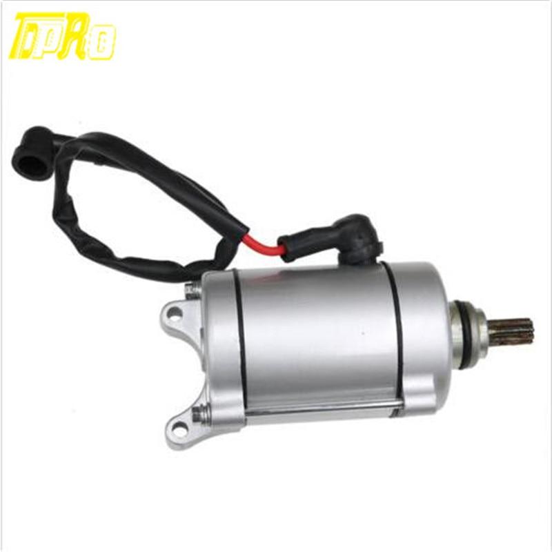 TDPRO мотор с 9 зубцами для мотоцикла, электрический стартер, мотор для HX250, SB250, 200cc, 250cc, мини-Мото, карманный Квадрокоптер, багги, велосипед