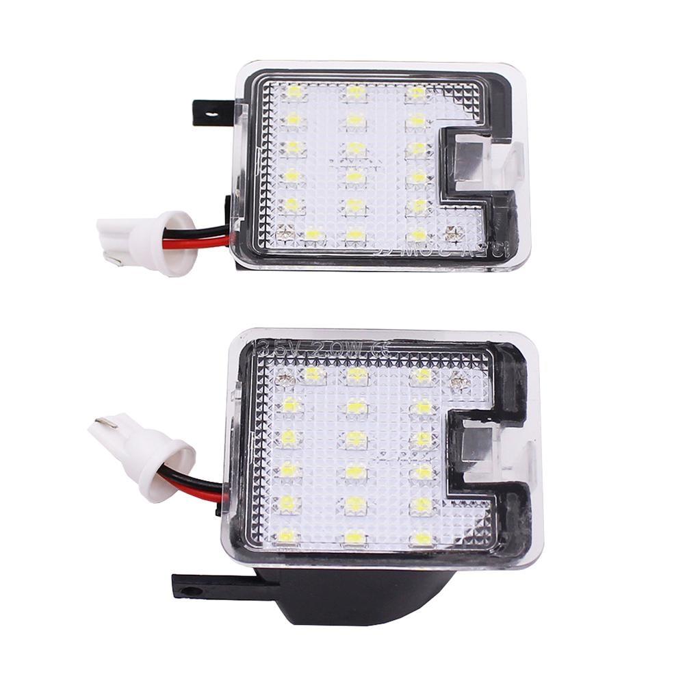 2019 universal 2 X luces LED de alto brillo, lado LIBRE DE ERRORES, luces de espejo SMD, luz de bienvenida de coche para Ford Focus 2015 Kuga Mondeo