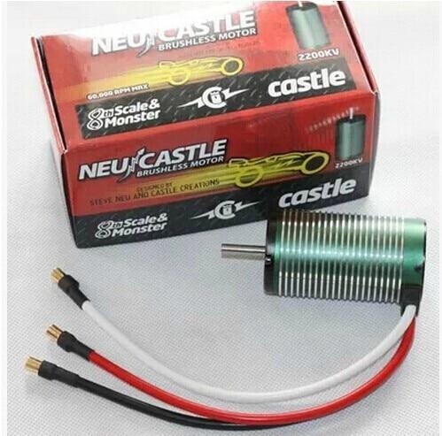 Бесплатная доставка, бесщеточный двигатель (2200kV) Neu-Castle 1515 1Y 1/8