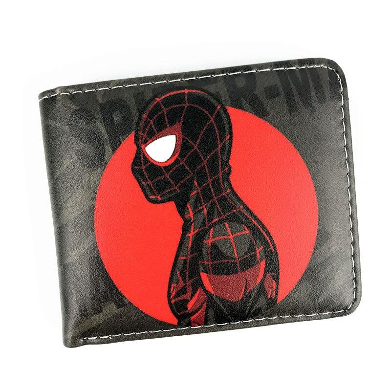 Nueva llegada hombre araña baile corto bolso Marvel cartera moneda monedero