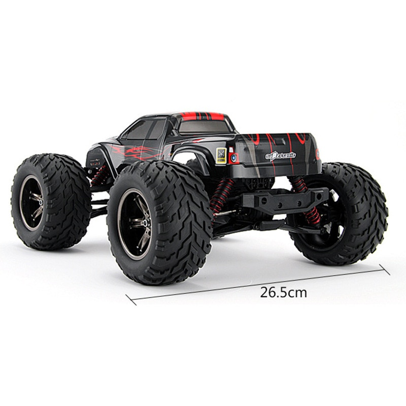 45KM/H High speed 2.4GHz 2WD rc car toy S911 1:12 Proportion All terrain  Brush Radio Remote Control rc Monster Truck kid gifts enlarge