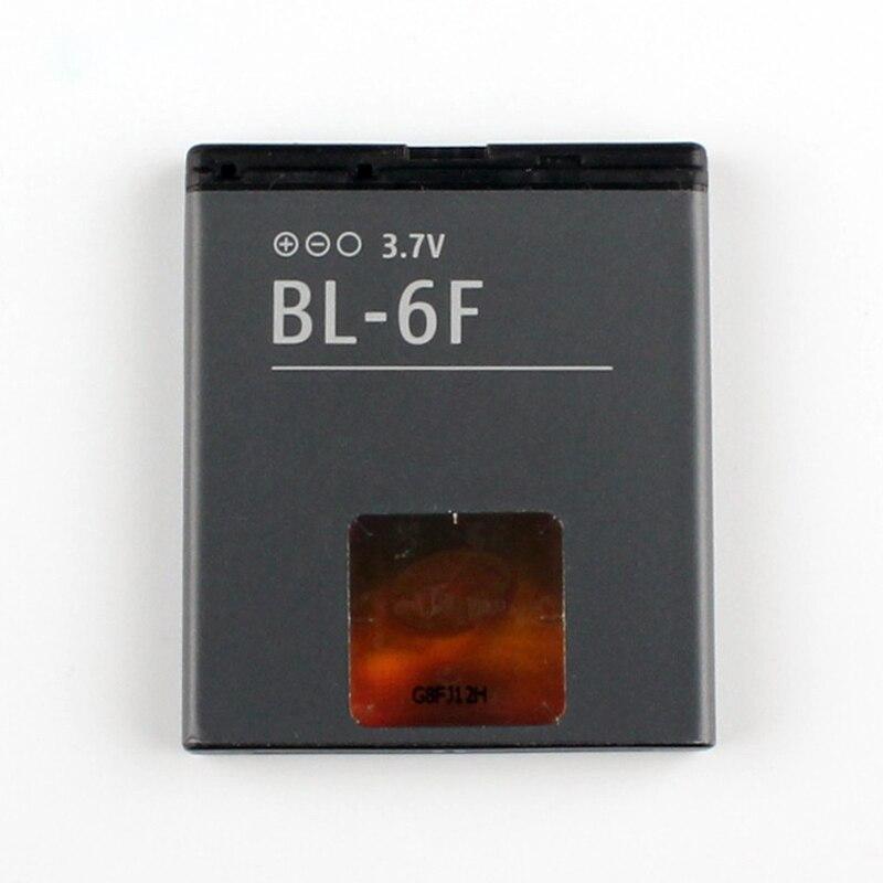 5 uds/lote 10 Uds Original BL-6F de la batería del teléfono para Nokia 6788 N78 N79 N95 6788 6788I BL6F 1200mAh