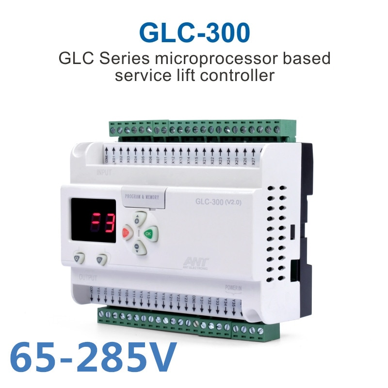 Dumbwaiter الحواسيب الصغيرة تحكم GLC-300 65-440V الحطام الدرج PLC معالج الشحن