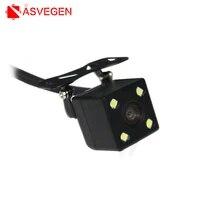 universal car rear view camera 12 led night vision rear parking camera waterproof 170 wide angle hd color image