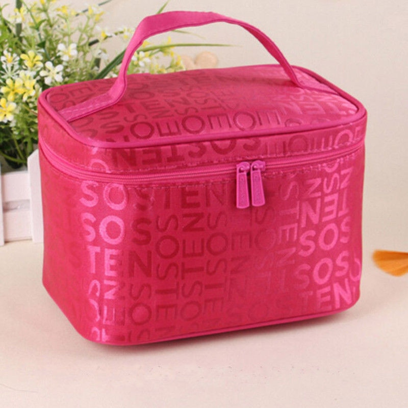 5 colors 2019 New Women Makeup Bag Cosmetic Bags Women Ladies Beauty Case Cosmetics Organizer Toilet