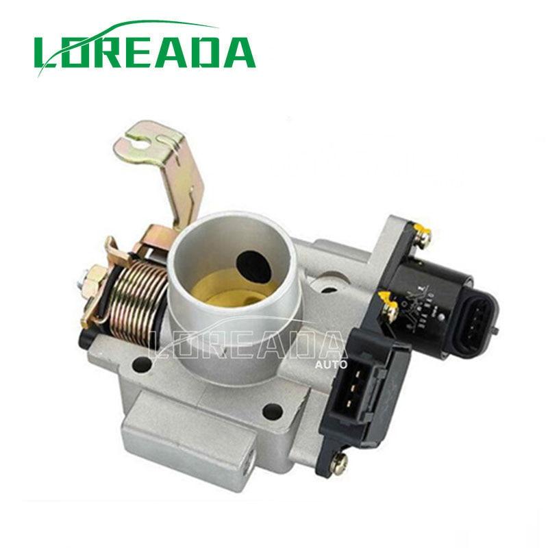 Cuerpo del acelerador LOREADA para el sistema UAES del motor HAFEI Lobo, calidad OEM, envío gratis, tamaño del orificio 35mm, prueba de 100%, nuevo