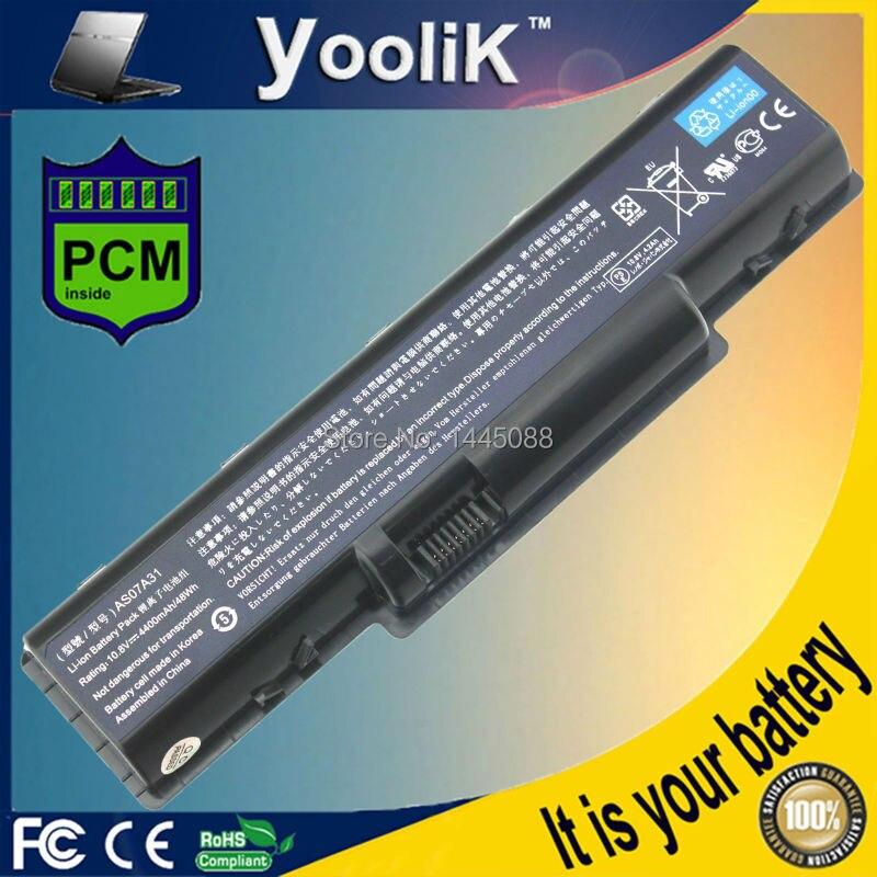 Batería para Acer Aspire, batería AS07A51, AS07A41, AS07A31 para Acer Aspire 5535,...