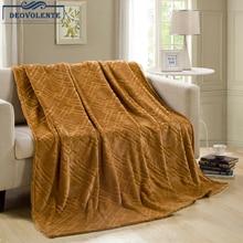 Gold Nerz Samt 1,8 m Flanell Decke Verdickung Korallen Fleece Decke Bettdecke Wirft Fleece Decke Manta Coberto Für Sofa Bett