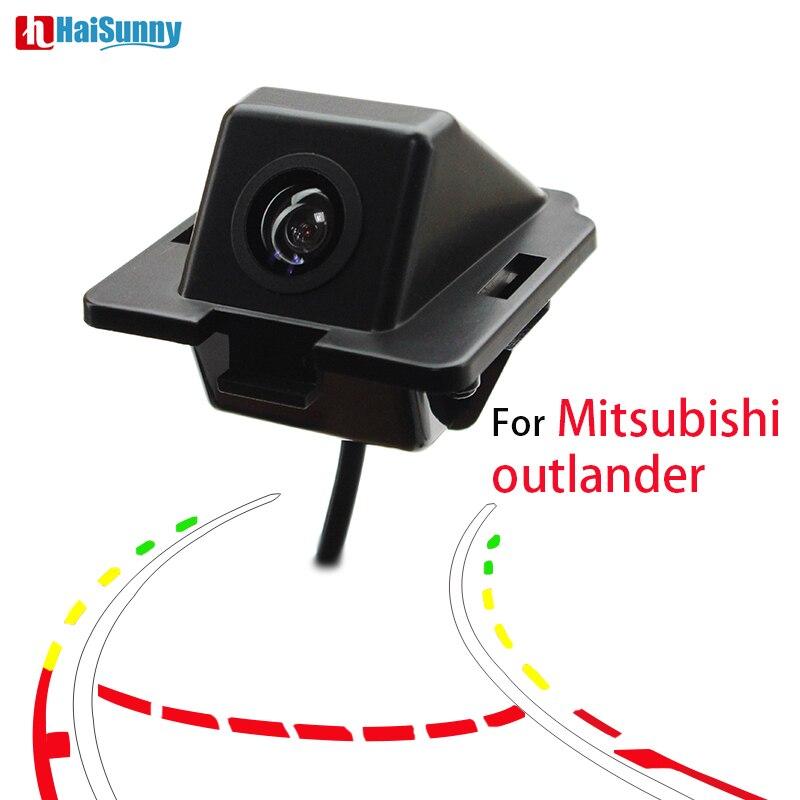 HaiSunny динамический трек камера заднего вида для Mitsubishi Outlander 2007-2015 комплект камеры заднего вида с широким обзором помощь при парковке