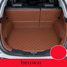 Custom car mat trunk for Hyundai All Models tucson ix25 santa i30 ix35 veracruz car styling car accessories custom cargo liner