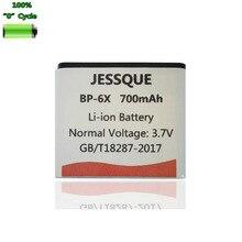 700mAh BP-6X BP6X Batterie pour Nokia 8800 8801 8860 Sirocco N73i Batterie accumulateur AKKU
