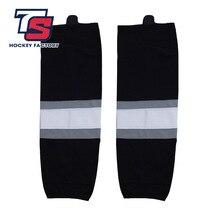 COLDOUTDOOR livraison gratuite 100% Polyester respirant rois chaussettes de Hockey sur glace pas cher protège-tibia W012 haute qualité hommes femmes sport