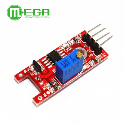 10pcs 4pin KY-024 Linear Magnetic Hall Switches Speed Counting Sensor Module