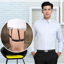 Unisex Mens Shirt Stays Garters Suspenders Braces For Shirts Gentleman Leg Elastic Men Shirt Suspenders Garter Holder Business