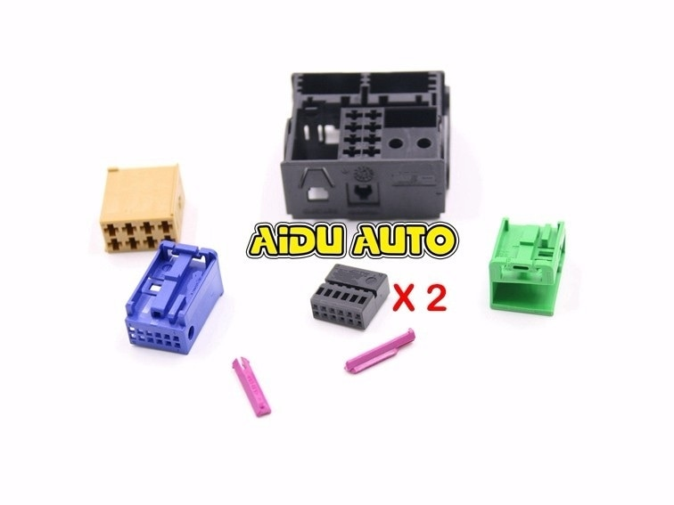 Para 3B7 035 444 VW adaptador de enchufe de RADIO 3B7035444