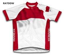 Indonésie drapeau cyclisme Jersey vélo vélo à manches courtes Sportswear vélo vêtements de vélo vêtements de cyclisme course vélo vêtements