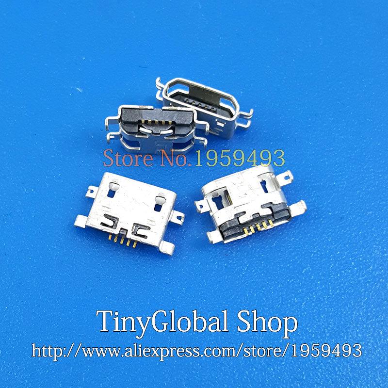 2 unids/lote XGE nuevo cargador Micro USB Jack de puerto de carga de reemplazo para UMI UIMI X2 Elephone P8000 de alta calidad
