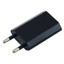 Enchufe europeo UE cargador USB adaptador de corriente 5V USB cargador de pared adaptador para Apple 6 6S 5 5S 4 4S 3GS MP4 GPS para viajar a casa