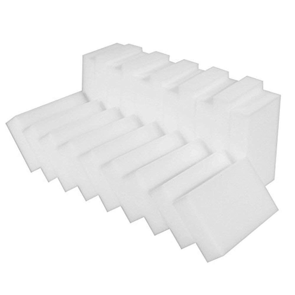 100 pçs/lote venda quente borracha mágica melamina limpeza esponja limpeza esponja limpeza escova limpeza de casa keukenhulpjes 10x6x2cm