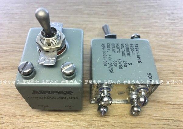 [VK] مفتاح AIRPAX الأصلي الأمريكي المقاوم للماء 2 زر تبديل 81541-AP16-6550-1 81541-AP16 6550-1 4 أقدام تبديل التبديل
